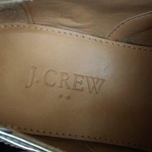 J. Crew Factory Shoes - J. Crew Factory Silver Metallic Oxford Shoes